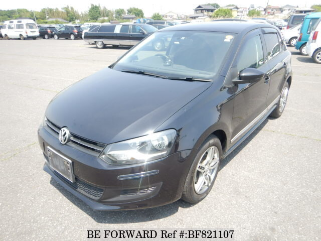 65e473eaef Used 2011 VOLKSWAGEN POLO 1.2 TSI COMFORT LINE DBA-6RCBZ for Sale ...