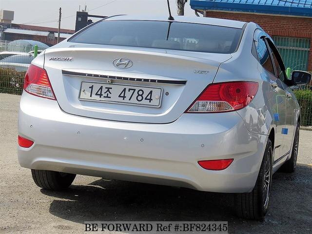 Used 2011 Hyundai Accent Luxury For Sale Bf824345 Be Forward