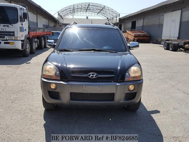 Used 2005 HYUNDAI TUCSON BLACK BOX/MX for Sale BF824685 - BE