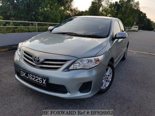 Used Toyota Corolla >> Used 2013 Toyota Corolla Altis For Sale Bf826952 Be Forward
