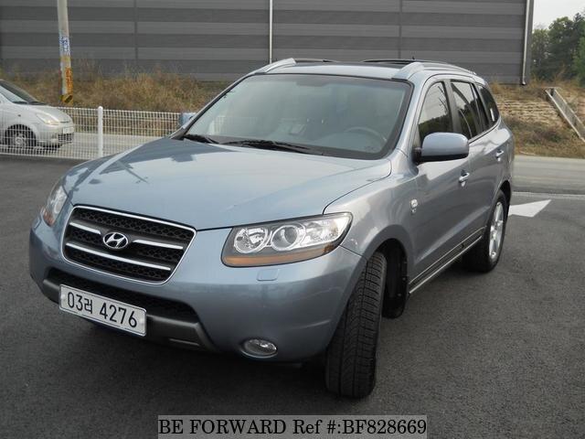 Used 2007 HYUNDAI SANTA FE BF828669 For Sale