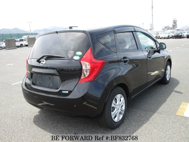 used 2012 nissan note x dba e12 for sale bf832768 be forward. Black Bedroom Furniture Sets. Home Design Ideas