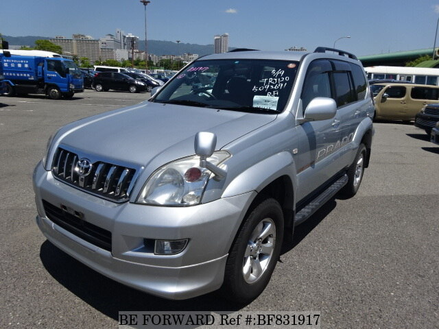 Used 2007 TOYOTA LAND CRUISER PRADO BF831917 For Sale