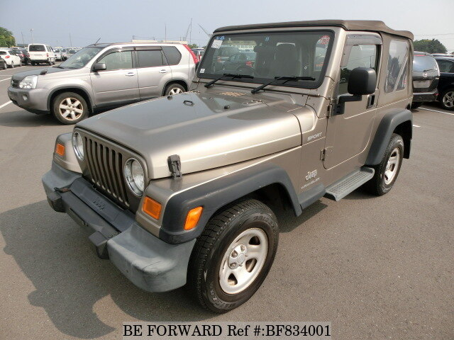 Used 2006 JEEP WRANGLER BF834001 For Sale