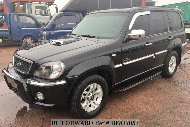 Used 2003 Hyundai Terracan Bf837057 For