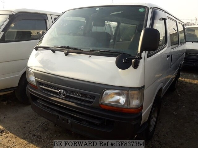 Used 2002 TOYOTA HIACE VAN BF837354 for Sale