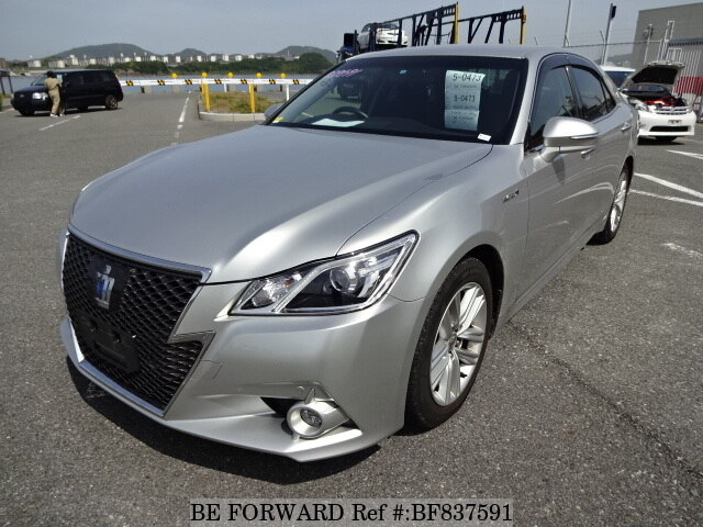 Used 2017 Toyota Crown Hybrid Bf837591 For Image