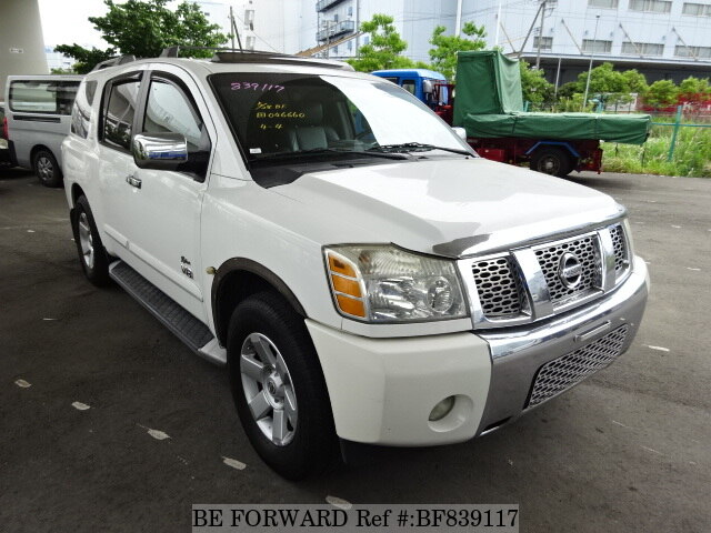 used 2012 nissan armada le for sale bf839117 be forward. Black Bedroom Furniture Sets. Home Design Ideas