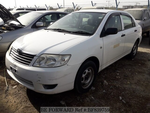 Used Toyota Corolla For Sale >> Used 2006 Toyota Corolla For Sale Bf839759 Be Forward