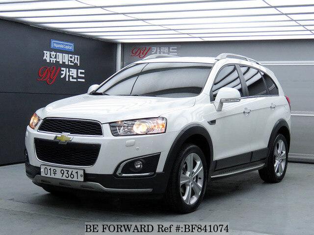 Used 2015 Chevrolet Captivaltz For Sale Bf841074 Be Forward