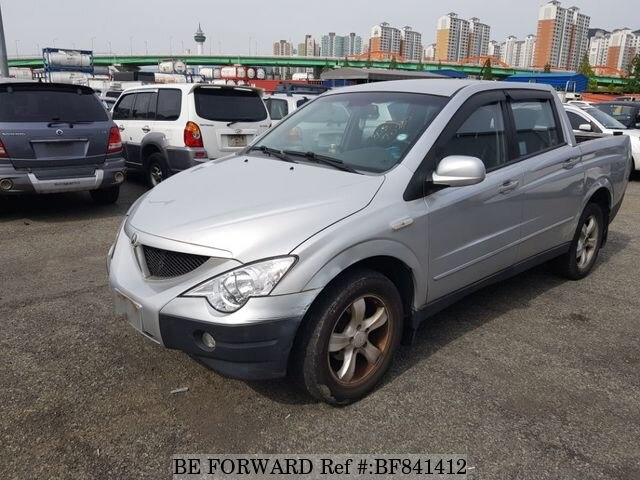 Used 2006 Ssangyong Actyonsports For Sale Bf841412 Be Forward