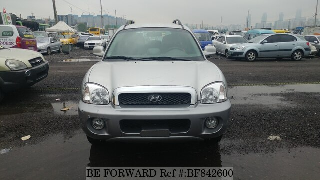 Used 2003 HYUNDAI SANTA FE BF842600 For Sale