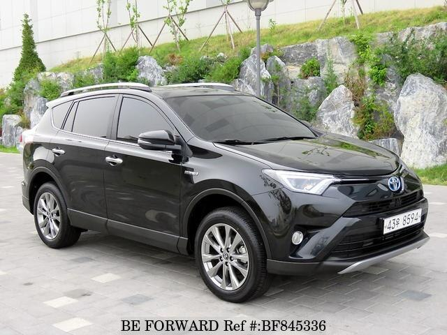 Used Toyota Rav4 Hybrid >> Used 2018 Toyota Rav4 Hybrid For Sale Bf845336 Be Forward