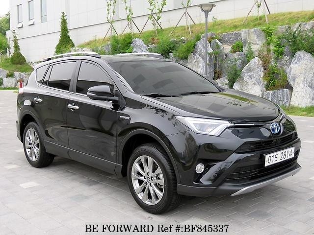 Used Toyota Rav4 Hybrid >> Used 2018 Toyota Rav4 Hybrid For Sale Bf845337 Be Forward