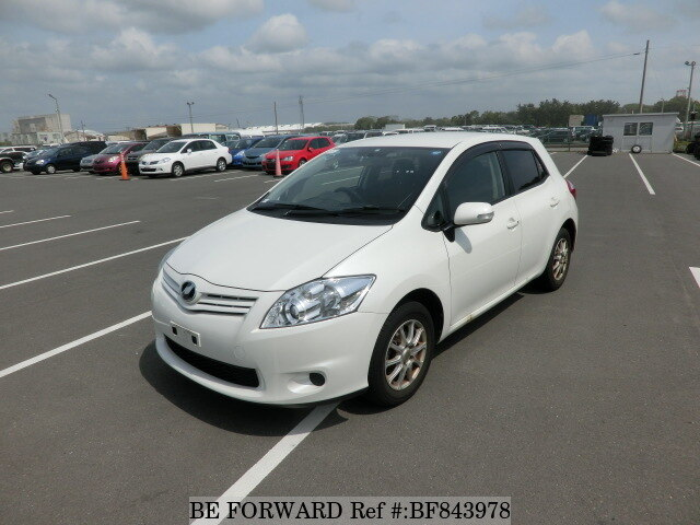 Used 2010 Toyota Auris 150x M Packagedba Nze154h For Sale Bf843978