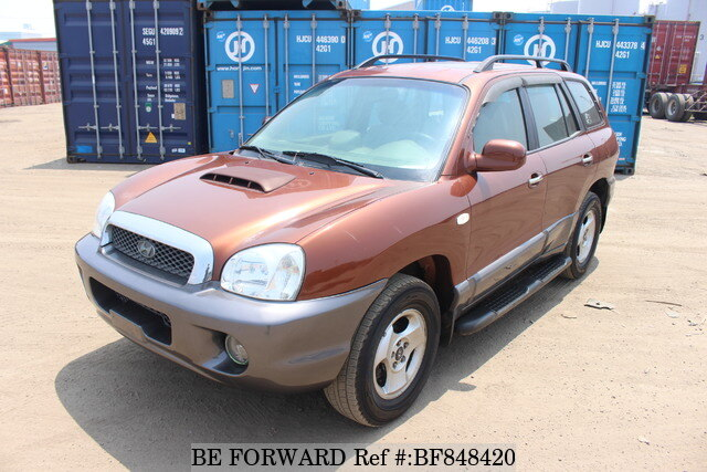 used 2002 hyundai santa fe gold for sale bf848420 be forward used 2002 hyundai santa fe gold for
