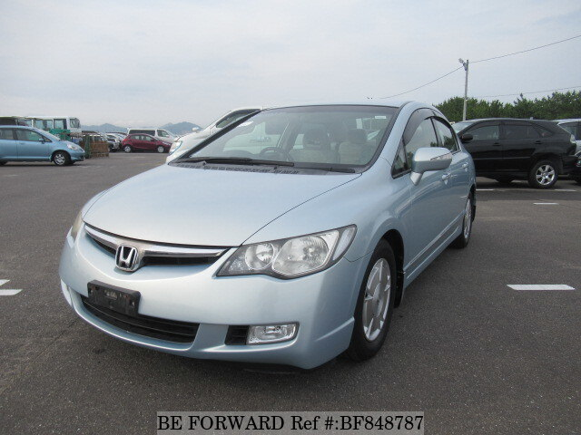 Great Used 2007 HONDA CIVIC HYBRID BF848787 For Sale