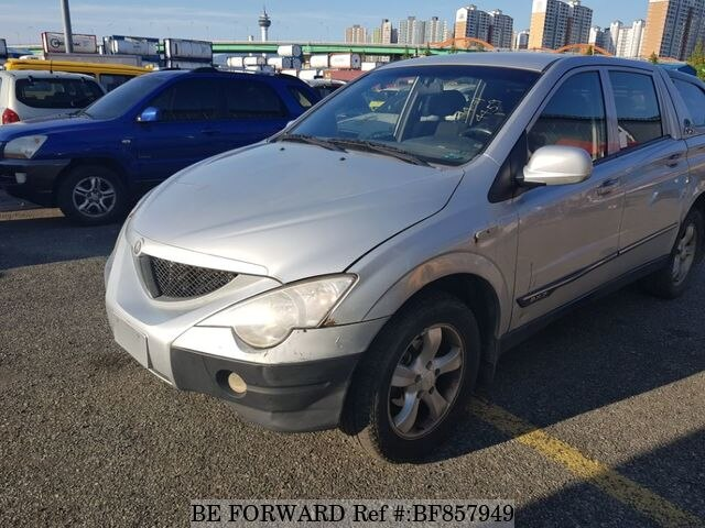 Used 2006 Ssangyong Actyonsports For Sale Bf857949 Be Forward