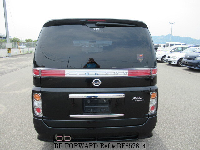 Used 2006 NISSAN ELGRAND RIDER/CBA-E51 for Sale BF857814 - BE FORWARD