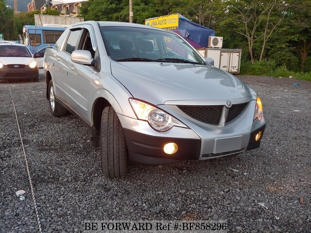 Used 2006 Ssangyong Actyon Sports For Sale Bf858296 Be Forward