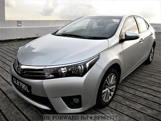 Used 2016 Toyota Corolla Altis Bf861777 For