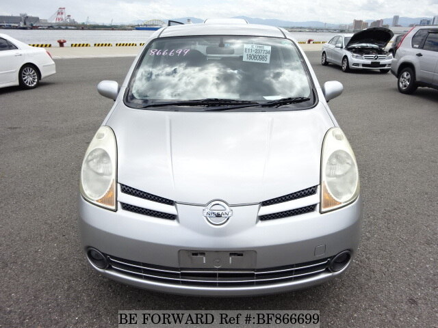 used 2007 nissan note dba e11 for sale bf866699 be forward. Black Bedroom Furniture Sets. Home Design Ideas