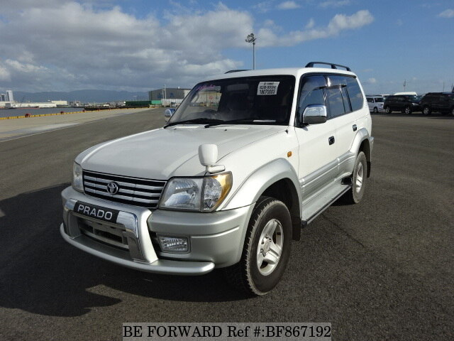 Used 2000 TOYOTA LAND CRUISER PRADO BF867192 For Sale