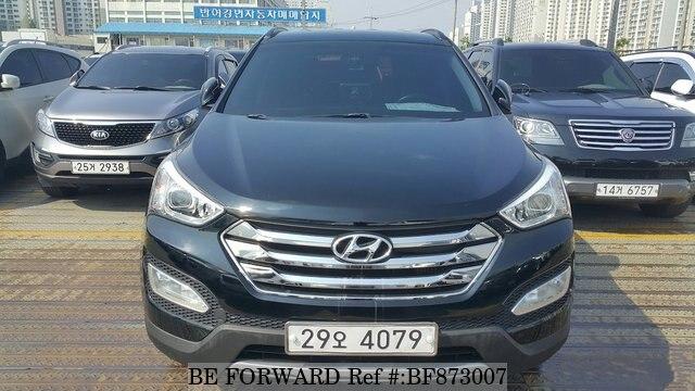Used 2014 HYUNDAI SANTA FE BF873007 For Sale