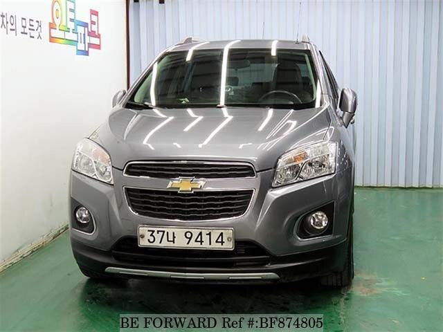 Used 2014 Chevrolet Traxlt For Sale Bf874805 Be Forward