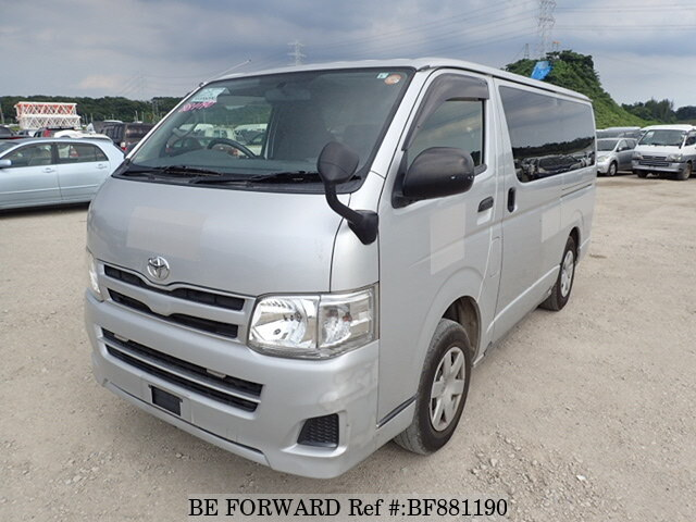 05f27df262 Used 2013 TOYOTA HIACE VAN DX LDF-KDH206V for Sale BF881190 - BE FORWARD