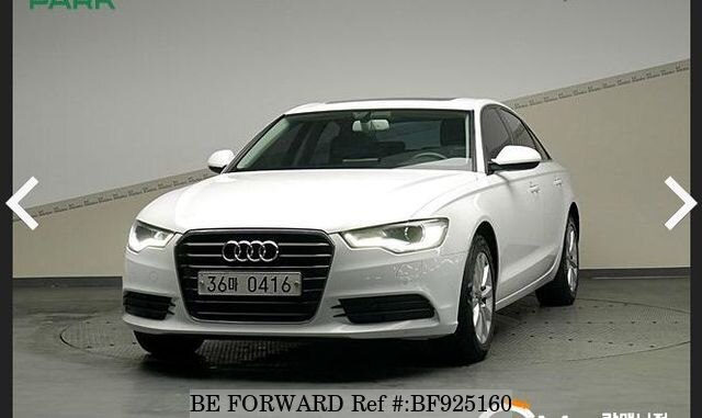Used 2014 Audi A6 For Sale Bf925160 Be Forward