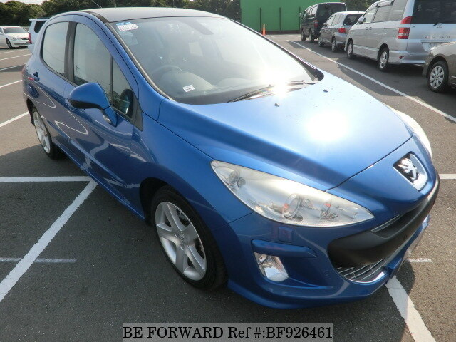 Used 2011 PEUGEOT 308 CIELO/ABA-T75F02S for Sale BF926461 ...