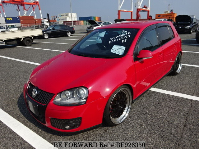 Used 2006 Volkswagen Golf Gti Gti Gh 1kaxx For Sale Bf926350 Be Forward