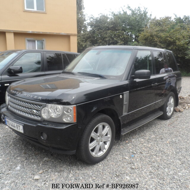 Used 2008 LAND ROVER RANGE ROVER VOGUE For Sale BF926987