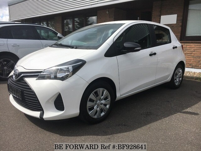 Used 2015 Toyota Yaris For Sale Bf928641 Be Forward