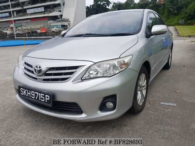 Used Toyota Corolla For Sale >> Used 2013 Toyota Corolla Altis For Sale Bf828693 Be Forward