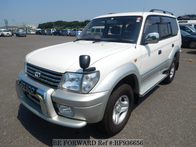 Used 2000 TOYOTA LAND CRUISER PRADO BF936656 For Sale