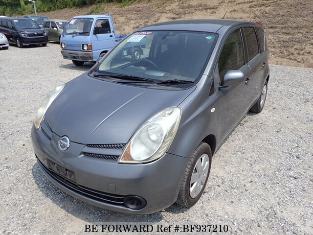 Used 2007 NISSAN NOTE BF937210 for Sale