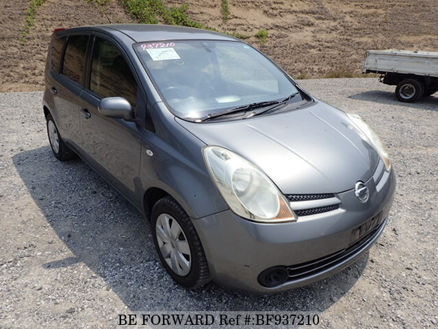 used 2007 nissan note dba e11 for sale bf937210 be forward. Black Bedroom Furniture Sets. Home Design Ideas