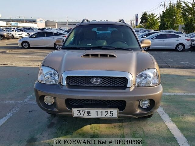 Used 2001 HYUNDAI SANTA FE BF940568 For Sale