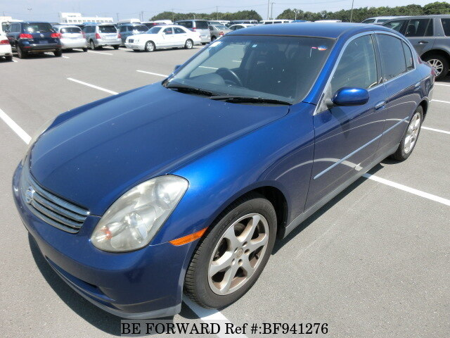 Used 2003 Nissan Skylinegh Hv35 For Sale Bf941276 Be Forward