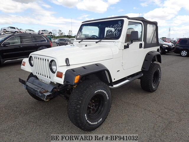 Used 1997 JEEP WRANGLER BF941032 For Sale