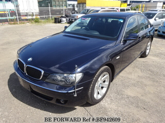 Used 2007 Bmw 7 Series 740iaba Hl40 For Sale Bf942609 Be Forward