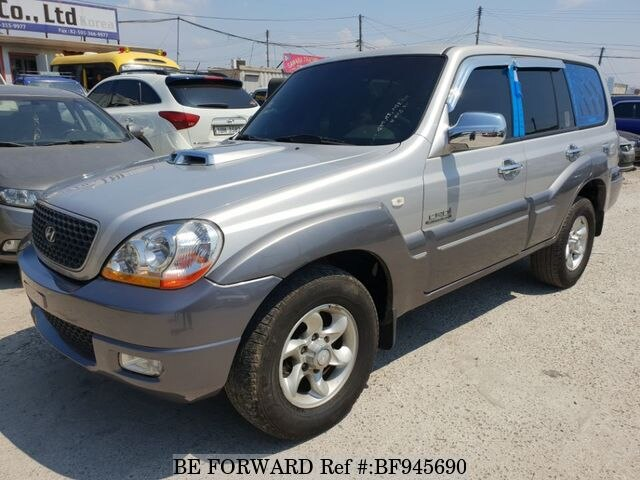 Used 2006 HYUNDAI TERRACAN BF945690 for Sale