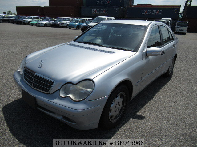 Used 2002 MERCEDES BENZ C CLASS BF945966 For Sale Imagem ...