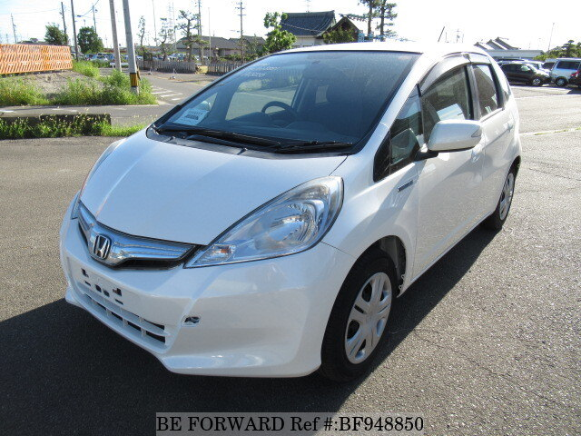 Used 2010 HONDA FIT HYBRID BF948850 For Sale