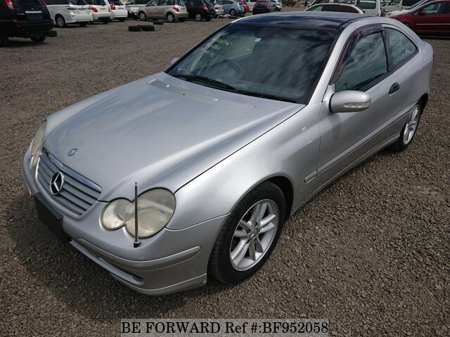 Used 2002 MERCEDES BENZ C CLASS BF952058 For Sale Imagem ...