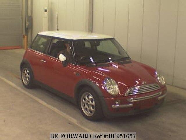 used 2003 bmw mini cooper gh ra16 for sale bf951657 be forward rh beforward jp