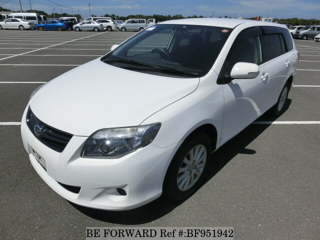 About This 2011 TOYOTA Corolla Fielder (Price:$3,478)