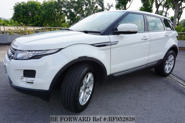 Used 2012 Land Rover Range Rover Evoque Smd3670x For Sale Bf952838